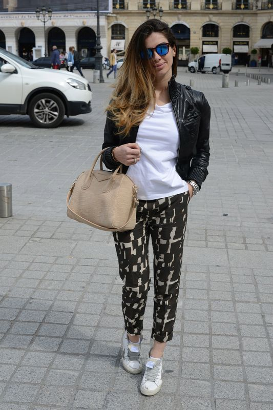alessia maglia- cool style- easy style- spektre- golden goose- patrizia pepe- givenchy- vogue- place vendome- paris- elle- bazar-fashionista