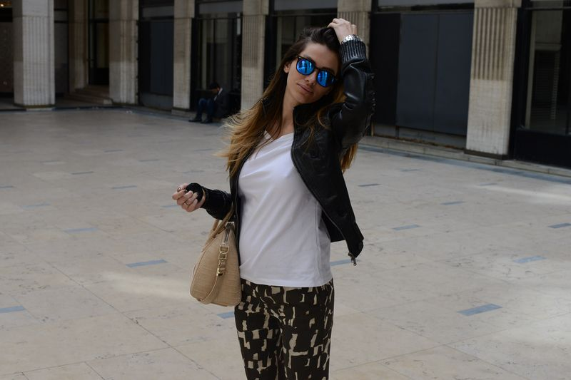alessia maglia- easy fashions style- cool place- spektre- star- givenchy- crocodile- golden goose- paris- fashionista