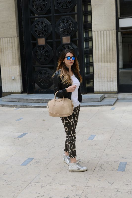 cool style- alessia maglia - blogger- easy fashion style- givenchy- golden goose- patrizia pepe- spektre- paris- french blogger