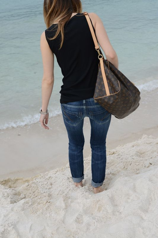 louis vuitton- dondup-mare- cool style- easy style- costa azzurra- french blogger- french sea- travel