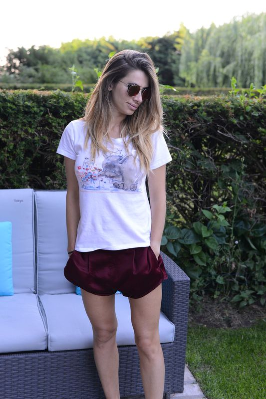 cool style-easy fashion style-alessia maglia- golden goose- disney- summer time -